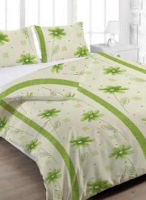 Bavlnený obliečok Anežka zelená