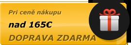 Doprava pri cene nad 171€ zdarma.