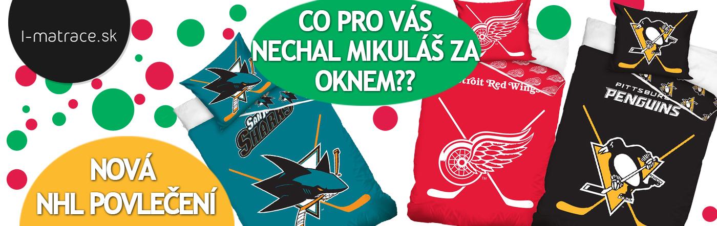 Limitovaná ponuka NHL obliečok